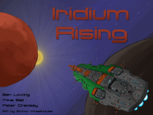 Iridium Rising artwork