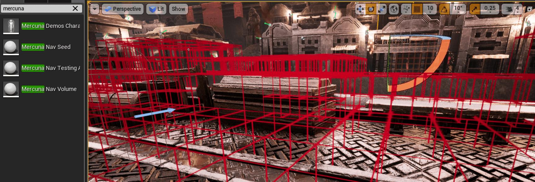 Unreal Engine 4 Integration | 3D Navigation | Mercuna