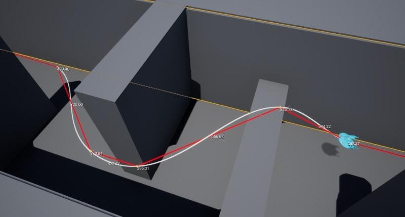 3D Pathfinding Middleware | AI in UE4 | Mercuna