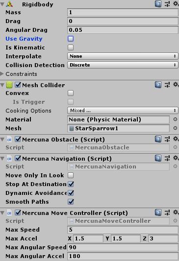 Quick Start Guide for Unity | 3D Navigation | Mercuna