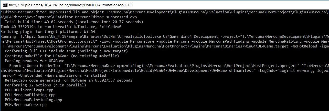 Building Binary Plugins in Unreal Engine 4 | Mercuna